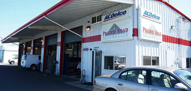 Prairie Road Automotive Front